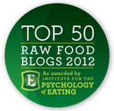 Top Raw Food Blogs 2012